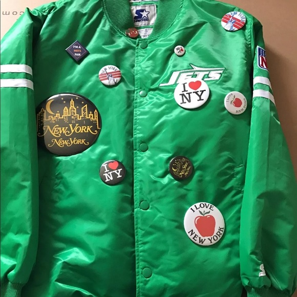 promo code 23ddf a514e New York Jets starter jacket (limited edition)